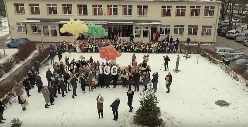 """""""Lietuvos 100-metis Šviesoje"""""""