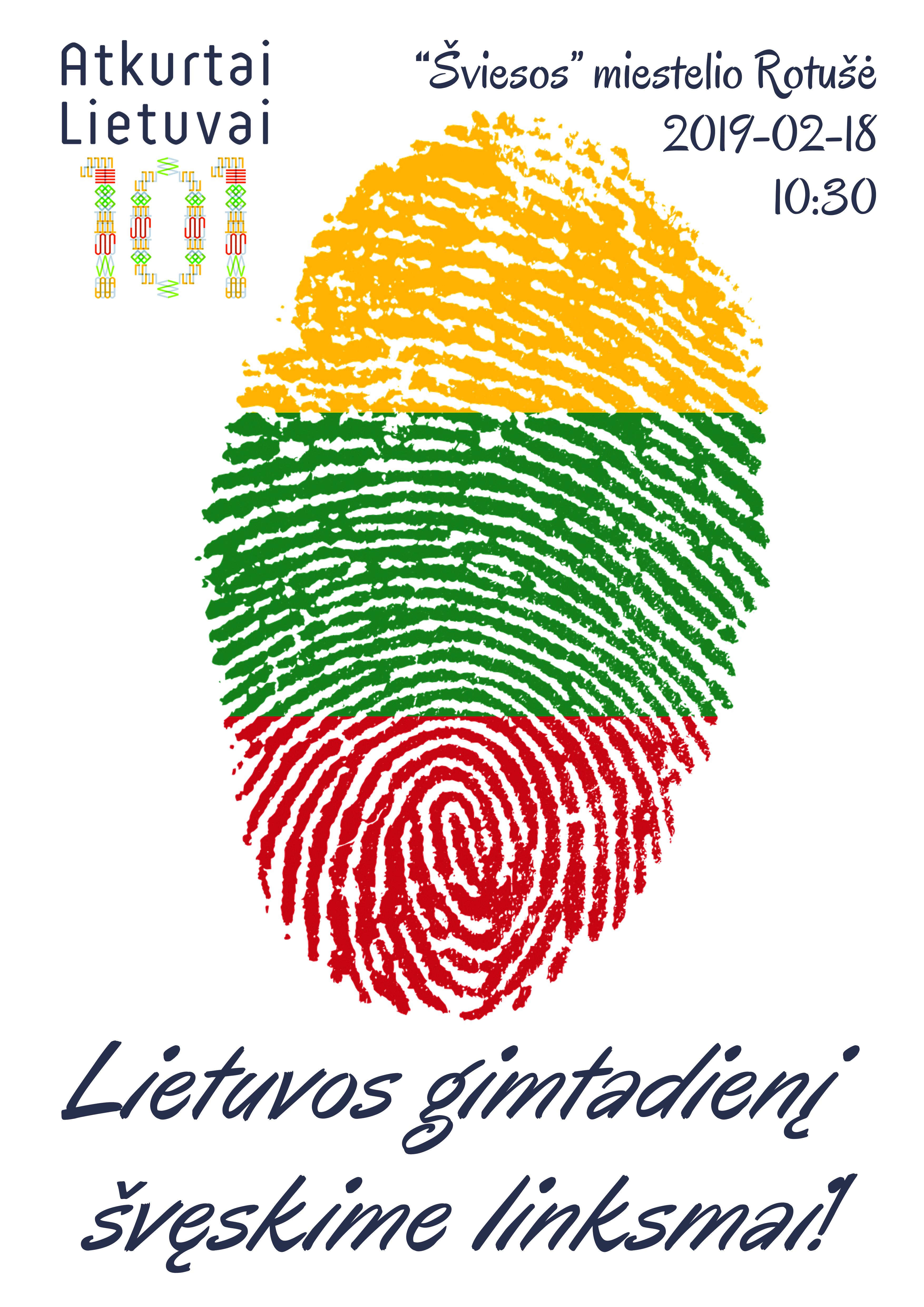 Lietuvai 101