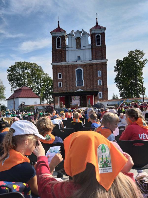 Katalikiškų mokyklų festivalisŠiluvoje (2019-09-12)