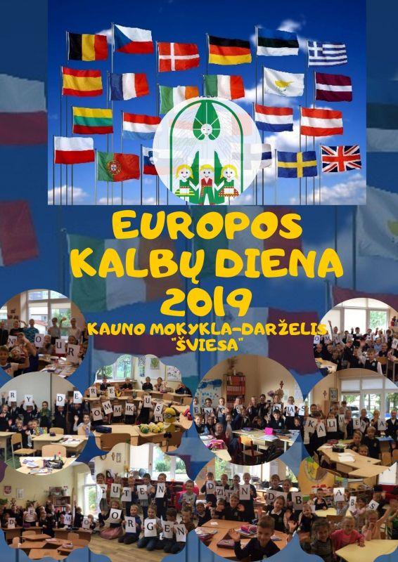 Europos kalbų diena 2019