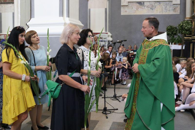 Mokslo metų pradžios šventė – šeimų palaiminimas