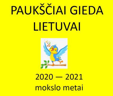 pauksciai gieda Lietuvai