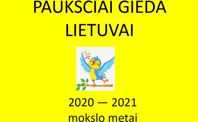 """Sveikiname konkurso """"40 paukščių gieda Lietuvai"""" nugalėtojas"""